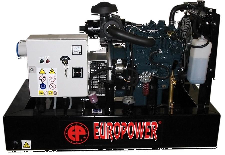 Генератор дизельный Europower EP 30 DE в Никольске