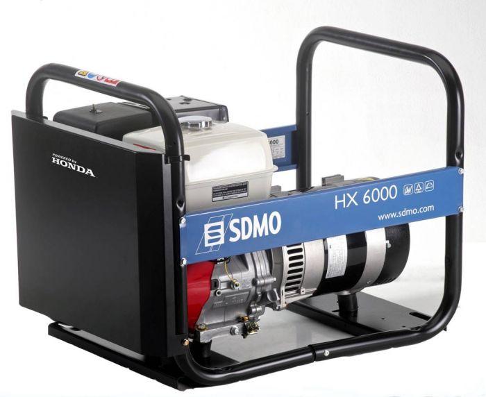 Генератор SDMO HX 6000-S в Никольске